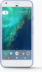 "Google Pixel XL PW2100 5.5"" AMOLED 32GB Smartphone Very Blue Unlocked"