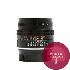 Konica Hexanon-M 50mm f/2.0 Film Digital Rangefinder Lens - USED