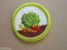 Gardening Merit Badge BSA Woven Cloth Patch Badge Boy Scouts Scouting