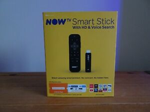 NOW TV (3801UK) SMART STICK Boxed and Unused