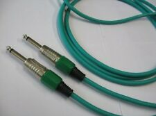 Chinch Cable Mono Green 6,3 Mm Length 6 With