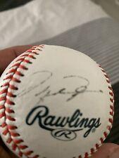Michael Jordan Autographed American League Baseball COA No Reserve