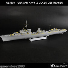 LionRoar PE details 1/350 WWII German Navy Z-Class Destroyer for DML/Trumpeter