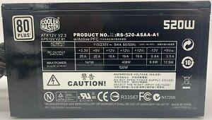 Cooler Master Real Power M520 (RS-520-ASAA-A1) ATX Netzteil 520 Watt 80+ Netztei