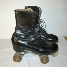 Vintage Douglass Snyder Custom Built Men's Roller Skates 8 1/2 Ash