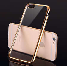 Mirror Edge Case iPhone 5 6 S 7 Plus Cover Clear Slim Apple Reflection + GLASS
