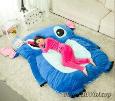 Filled Lilo & Stitch Carpet Tatami Mattress Single Bed Sofa Large Bean Bag Gift
