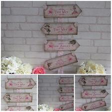 Alice in Wonderland Arrows, Quote Sign, Wedding, Tea Party, Photo prop, Birthday