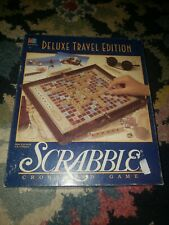Deluxe Travel Edition Scrabble Crossword Game MB 1990