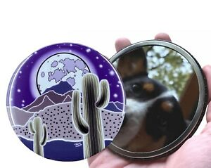 Southwest Desert Art Pocket Mirror Gardening Gifts and Collectible Accessories