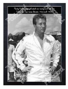 Historic Marty Robbins  NASCAR  Postcard