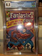 Fantastic Four #42 (1965) CGC Grade 8.5 Jack Kirby!
