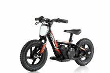 "Red Revvi 12"" electric kids bike motorbike motorcycle 24v battery powered"