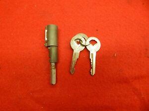 NOS 62 Ford Galaxie 500 500 XL Trunk Lock Cylinder with 2 Keys #C2AB-6243505-A