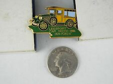 1929 FORD A 1985 LEESPORT CAR SHOW PIN
