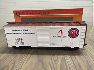 NEW! G SCALE ROUND HOUSE PRODUCTS GATEWAY 2001 NMRA NATIONAL CONVENTION BOX CAR