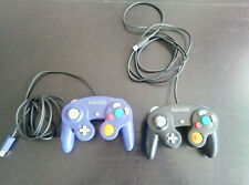 Nintendo GameCube 2 Controller negro y Lila