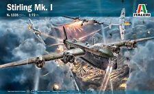 SHORT STIRLING Mk.I HEAVY BOMBER  ITALERI 1/72 PLASTIC KIT