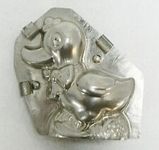 VINTAGE METAL CHOCOLATE MOLD MADE IN GERMANY DUCK