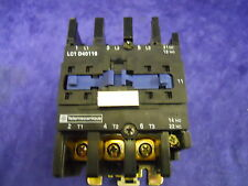 USED TELEMECANIQUE LC1D4116 LC1 D40116 CONTACTOR COIL 208V 50/60HZ
