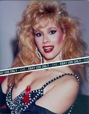 """RHONDA SHEAR VERY SEXY!! COLOR CANDID 8x10 PHOTO BUSTY POSE!! """"UP ALL NIGHT"""""""