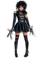 MISS SCISSORHANDS COSTUME SIZE SMALL (missing one scissorhand)