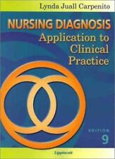 Nursing Diagnosis: Application to Clinical Practice, Carpenito RN  MSN  CRNP, Ly