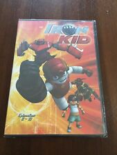 IRON KID VOLUMEN 2 - 1 DVD - 144 MIN - CAPITULOS 8 A 13 - BRB - NEW SEALED NUEVO