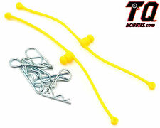 NEW Dubro Body Klip Retainers Yellow (2) 2247 NIB Fast ship+ Track#