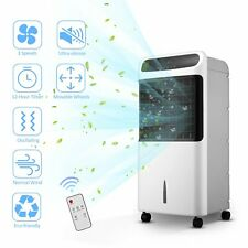 10L Portable Tower Air Conditioner Cooler with LED Touch and Remote