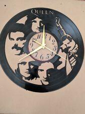 Queen Vinyl Record Clock home decor gift