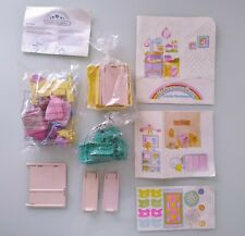 Spanish My Little Pony G1 Show Estable Parts + Stickers + Instructions
