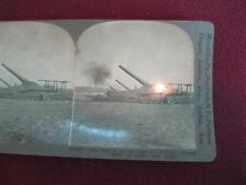 Stereoview Keystone View Co The Dogs Of War Let Loose Are Howling Reims WWI (O)