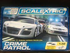 Scalextric crimen patrulla 1:32 Racing conjunto Wa