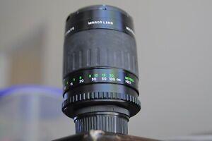 Vivitar 500mm F8 Mirror lens for Nikon Film and Nikon D70,80,90,200,700,800,810
