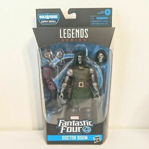 Marvel Legends Fantastic Four Super Skrull BaF Dr Doom Figure BRAND NEW Doctor