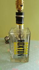 Hoxton Gin bottle table lamp - wired and electrically PAT tested