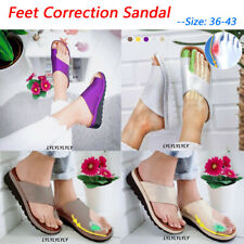 Women Comfy Platform Sandal Footed Shoes Wedges Shoes For Bunion Corrector Beach