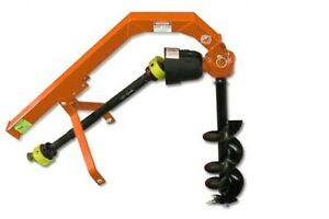 Post Hole Digger / Tractor Mounted PTO Hole Borer Auger / UK stock