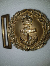 WWI Original British Naval Officer belt buckle