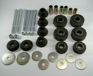 1967-72 Chevy GMC 1/2 Ton C10 Pickup Truck Cab Mount Kit Rad Core Support Bolts
