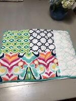 Pottery Barn Teen Patchwork Standard Quilted Pillow Sham indian design