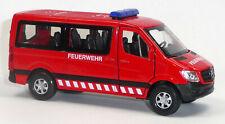 Mercedes Benz SPRINTER Feuerwehr Sammlermodell ca.1:43 / 12 cm rot Neuware WELLY