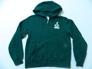 M35 New REEBOK Green Bay Packers Embroidered Sweatshirt Hoodie WOMEN'S Sizes