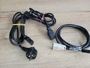 HDMI zu DVI Kabel + 2 Kaltgeräte Stromkabel
