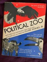 POLITICAL ZOO by Clare Barnes, JR   1952 edition paperback book, free shipping