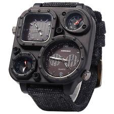 SHIWEIBAO Men Dual Time Zone Quartz Wrist Watch with Compass Z3S7 O4K3