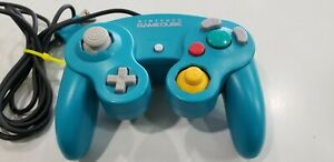 Official Nintendo GameCube Controller *Limited Edition Emerald Blue* TESTED