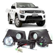 Mitsubishi Triton 2009-2014 Fog Lights Lamps Complete Kit WITH FREE BULB