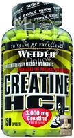 Weider Creatine HCL 150 Kapsel (13,70€/100g) Kreatinhydrochlorid 3.000mg Kreatin